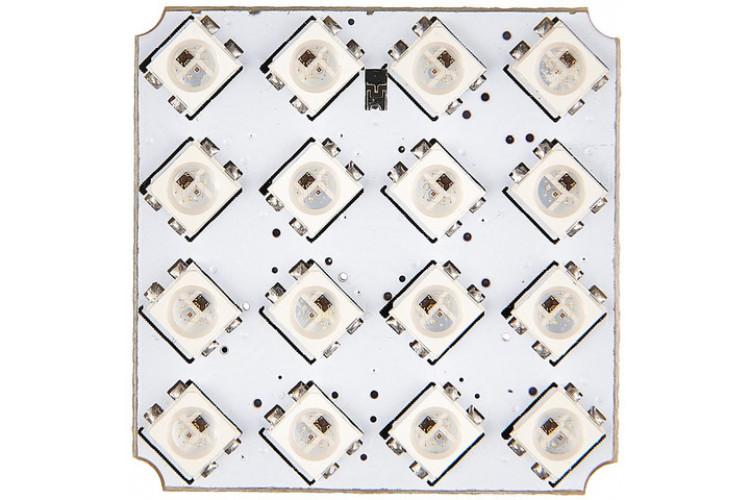 Светодиодная RGB матрица 4×4 (Troyka-модуль)