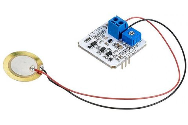 Сенсор вибрации (Troyka-модуль)