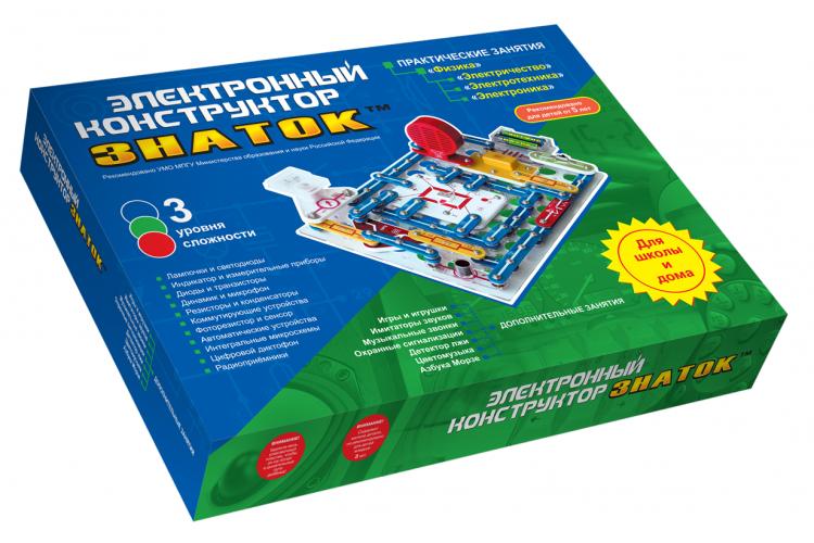 Электронный конструктор набор «Для школы и дома»
