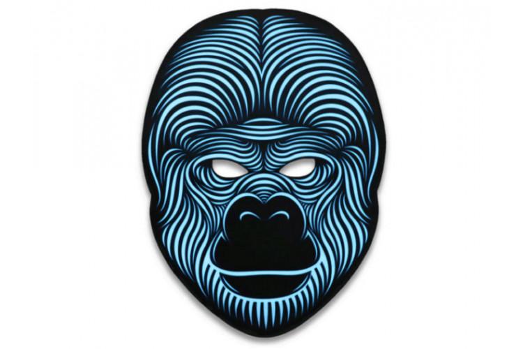 Световая маска с датчиком звука GeekMask King