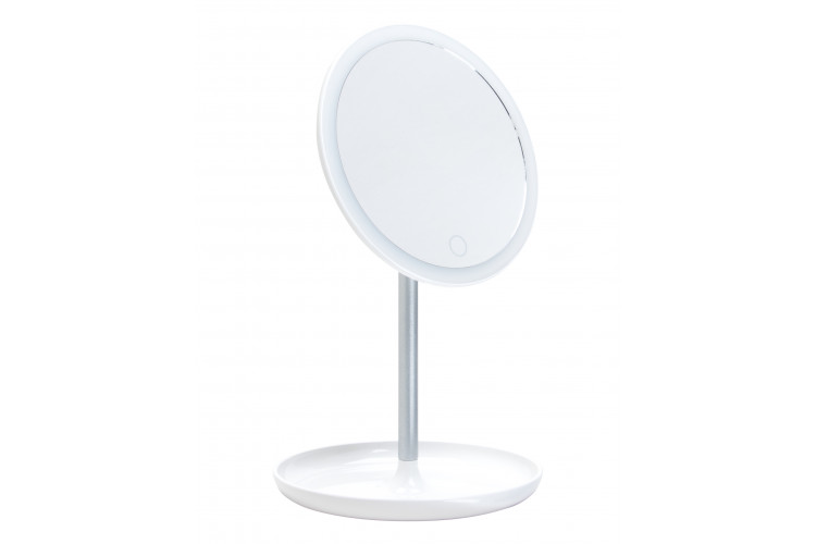 LM207 Зеркало косметологическое с подсветкой на подставке Gezatone