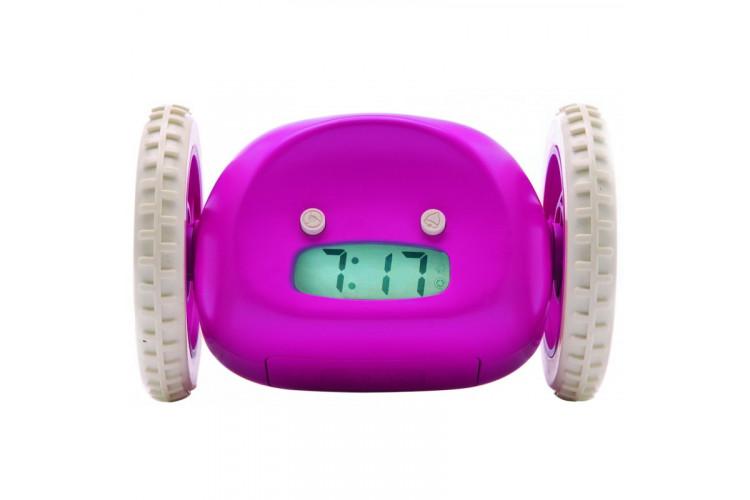Часы-будильник Clocky Robotic (сиреневый)