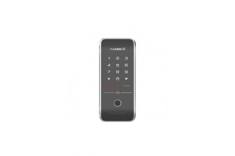Накладной электронный дверной замок с отпечатком пальца Kaadas R7-5 Black Fingerprint (биометрический)